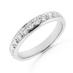 14 Stone Pave Set Diamond Band