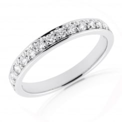 15 Stone Pave Diamond Band