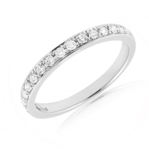 17 Stone Pave Diamond Band