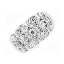 1ct Diamond Wave Ring