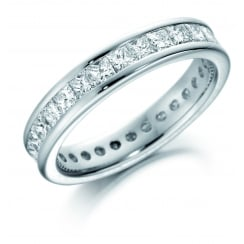 2ct Diamond Channel Set Court