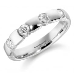 5 Stone Diamond Eternity