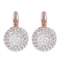 Altissima Rose Tone Earrings