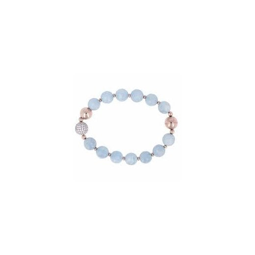 Bronzallure Gemstone Beaded Bracelet