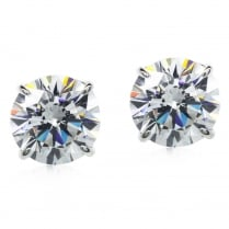 9ct 7mm Eternal Stud Earrings