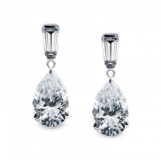 CARAT* 9ct Pear Drop Earrings