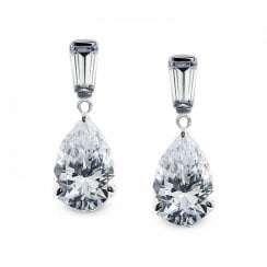 9ct Pear Drop Earrings