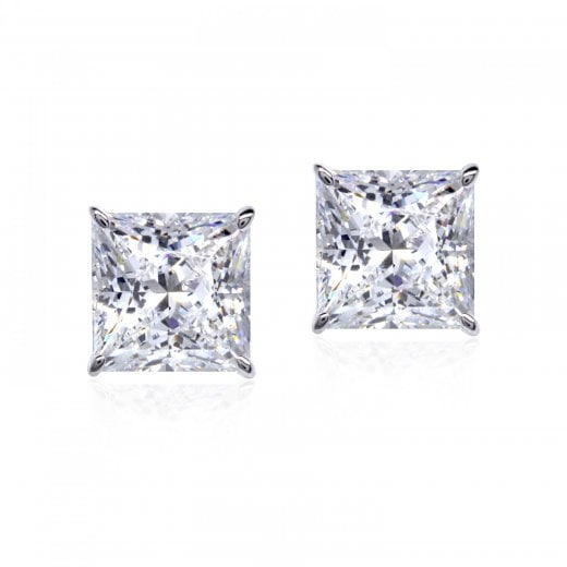 CARAT* 9ct Princess Cut Earrings