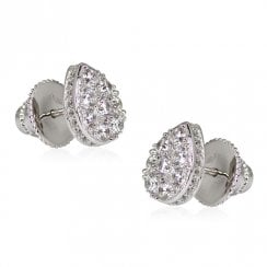 Silver Noa Stud Earrings