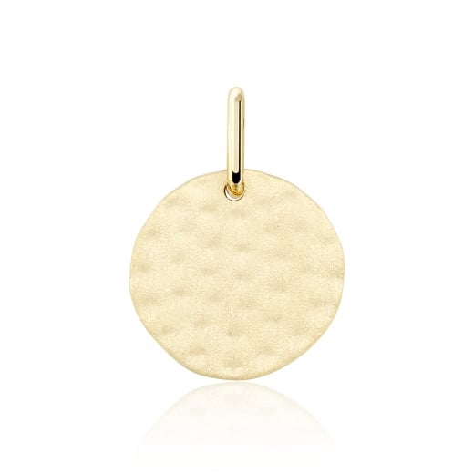 Cleo Roze Life Medium Matte Disc Charm