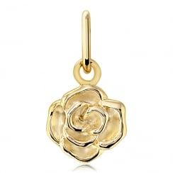 Love Rose Yellow Tone Charm
