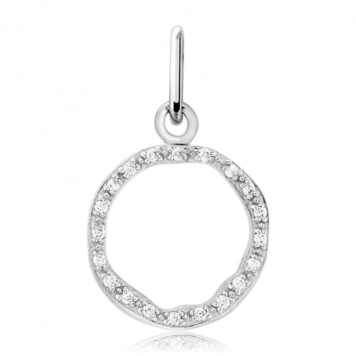 Cleo Roze Nature Open Circle Charm