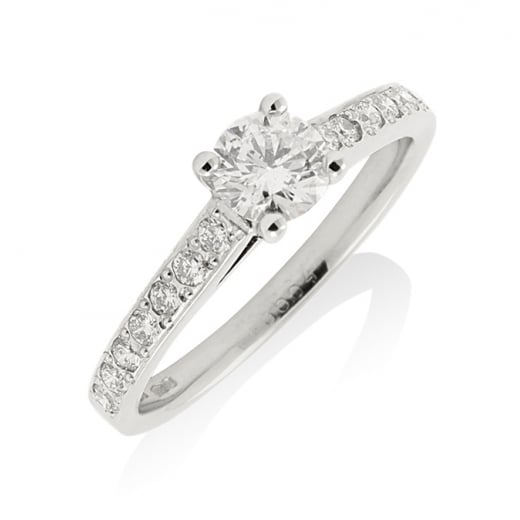 D Colour Solitaire Diamond Ring