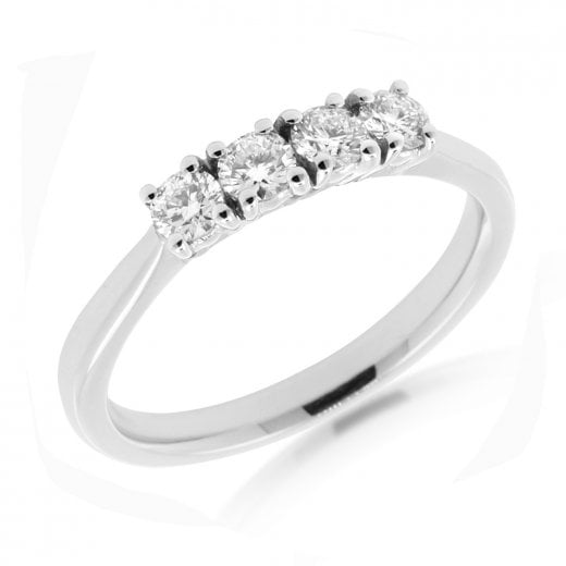 Diamond Four Stone Ring 0.40ct