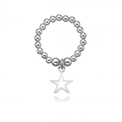 Dollie Open Star Ring 3mm