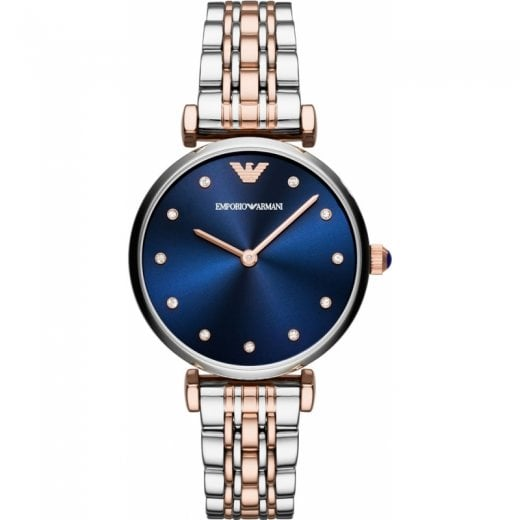 Emporio Armani Ladies Gianni T-Bar Bracelet