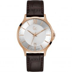 Gents GC Executive Brown Leather Strap