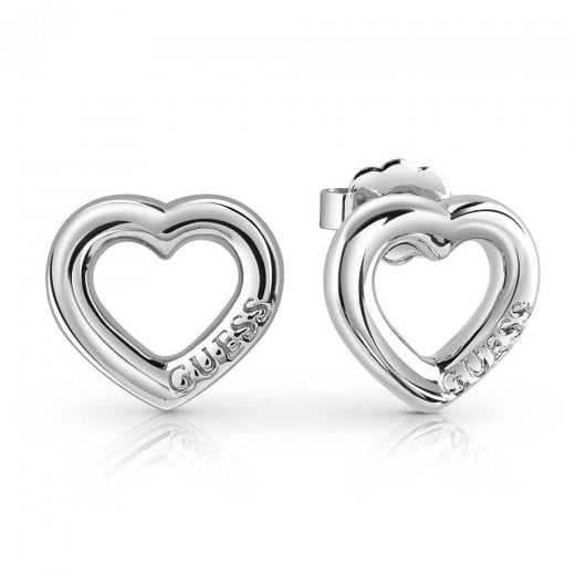 Guess Grace Heart Earrings