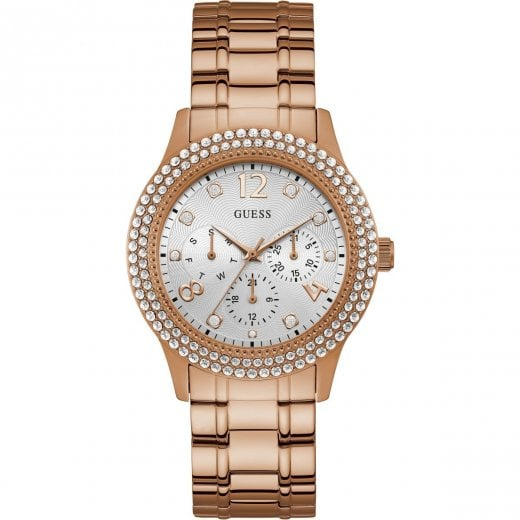 Guess Ladies Bedazzle Rose Bracelet