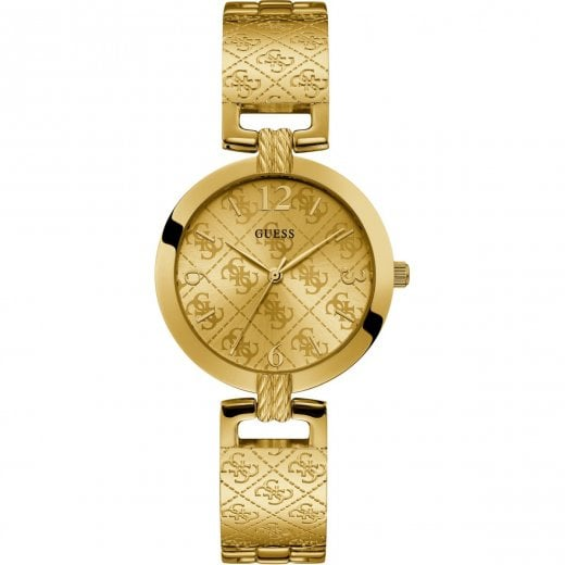 Guess Ladies G Luxe Yellow Bracelet