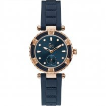 Ladies GC LadyDiver Navy Silicone Strap