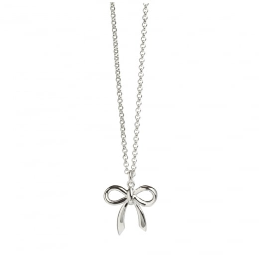 Muru everlasting love bow pendant muru from sproules jewellers uk muru everlasting love bow pendant aloadofball Images