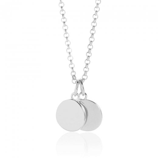 MURU Friendship Double Disc Pendant