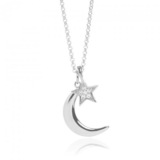 MURU Moon & Star Pendant