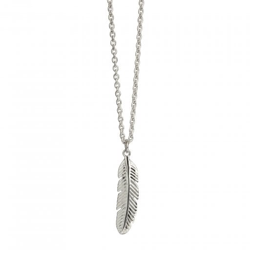 MURU Positivity Feather Pendant