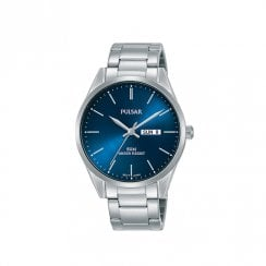 Gents Blue Dial Watch
