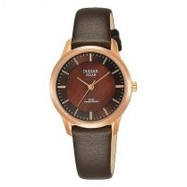 Ladies Rose Strap Watch