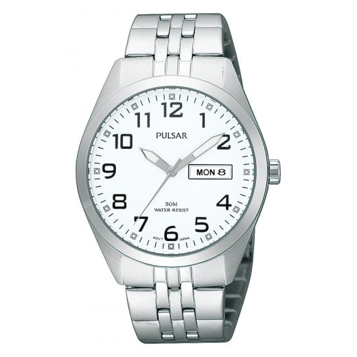 13fc07b0cf0 Pulsar Number Dial Bracelet Watch - Pulsar from Sproules Jewellers UK