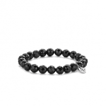 10mm Black Expandable Bracelet