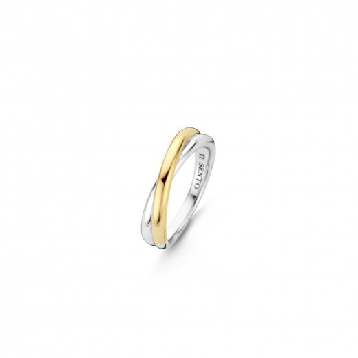 Ti-Sento Milano Two Tone Ring