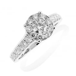 Timeless Diamond Cluster Ring