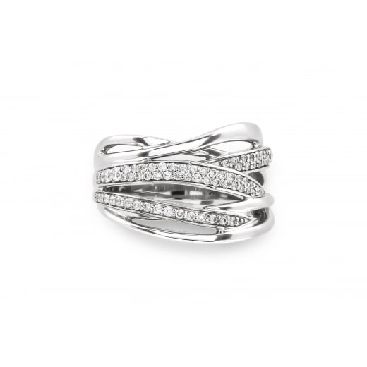 Timeless Woven Diamond Band