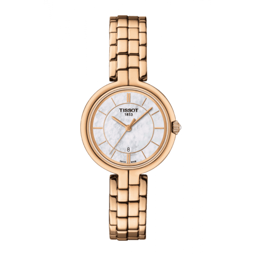 Tissot Ladies Flamingo Rose Tone