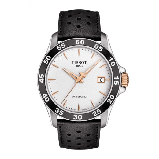 Tissot V8 Swissmatic Leather Strap